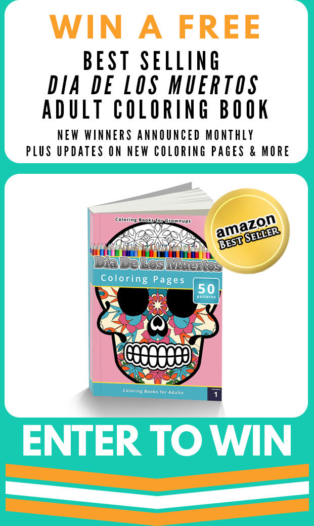 Enter to Win Free Adult Coloring Book
